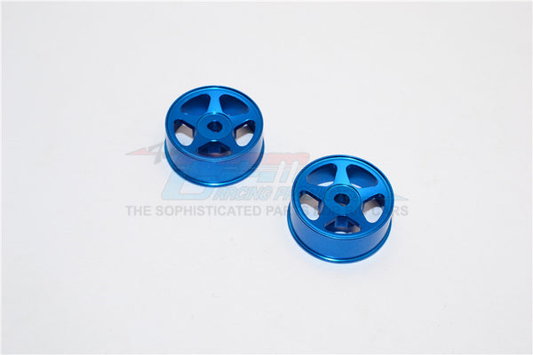 XMods Generation 1 & Evolution Touring Aluminum Front Sinkage Rims (Star) - 1Pr Blue