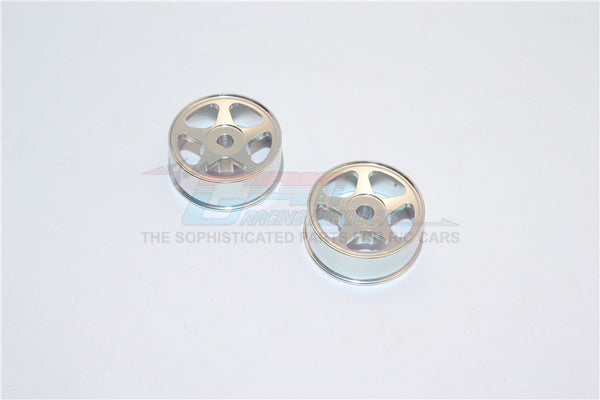 XMods Generation 1 & Evolution Touring Aluminum Front Sinkage Rims (Star) - 1Pr Silver