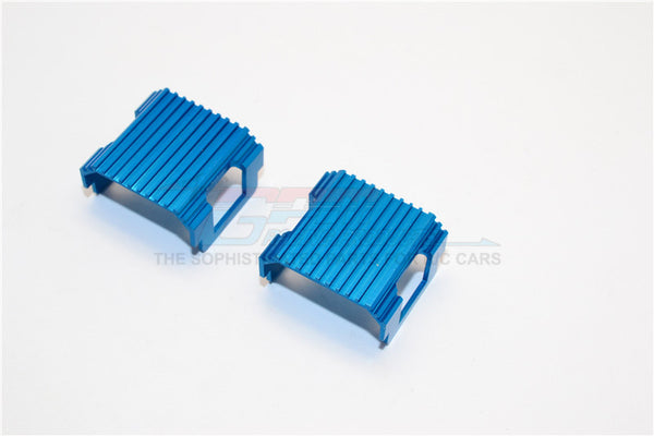 XMods Generation 1 Aluminum Battery Heat Sink Mount - 1Pr Blue