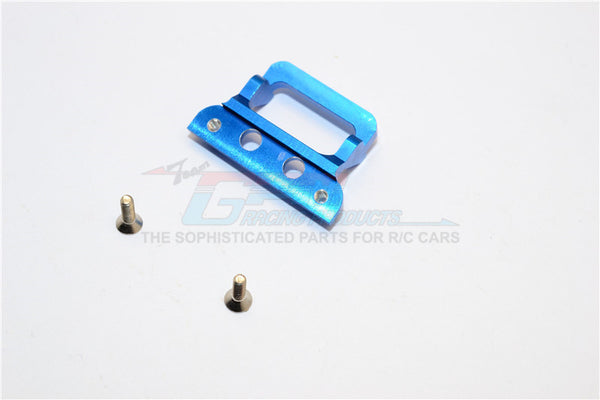 XMods Generation 1 Aluminum Body Lock Plate With Screws (For RSX)- 1Pc Set Blue