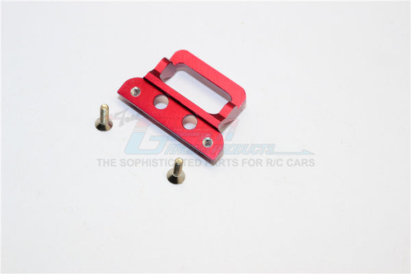 XMods Generation 1 Aluminum Body Lock Plate With Screws (For RSX) - 1Pc Set Red