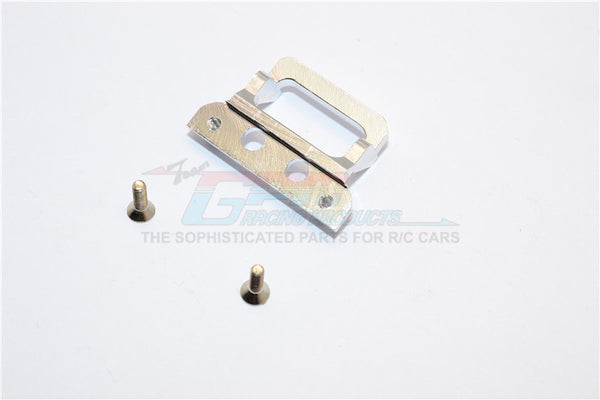 XMods Generation 1 Aluminum Body Lock Plate With Screws (For RSX) - 1Pc Set Silver