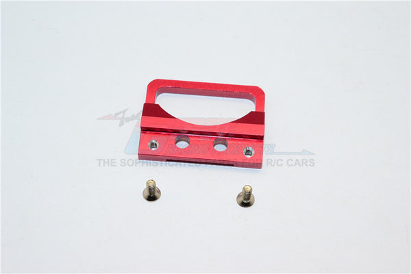 XMods Generation 1 Aluminum Body Lock Plate With Screws (For Supra) - 1Pc Set Red