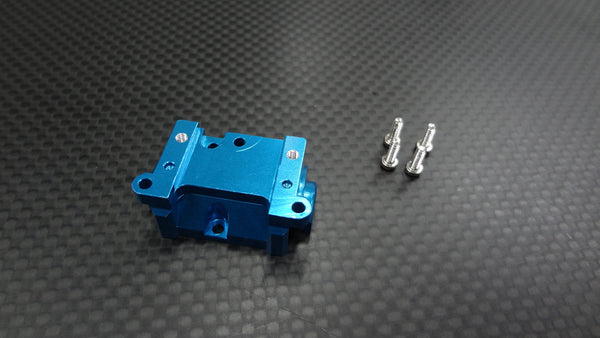 XMods Evolution Touring Aluminum Rear Gear Box Rear Cover With Screws - 1Pc Set Blue