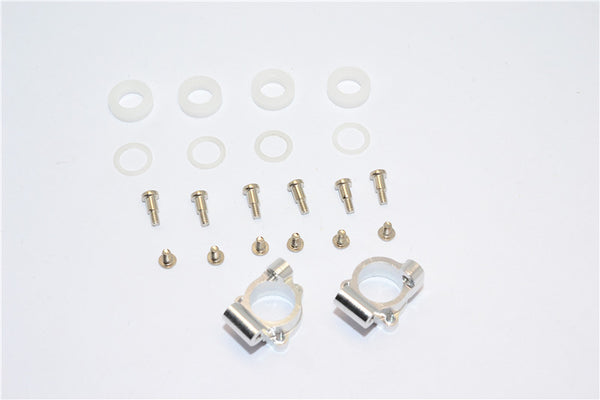XMods Evolution Touring Aluminum Rear Knuckle Arm With Delrin Collars & Screws - 1Pr Set Silver