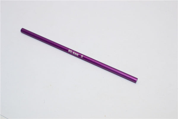 XMods Evolution Touring Aluminum Main Shaft (80.40mm Short) - 1Pc Purple