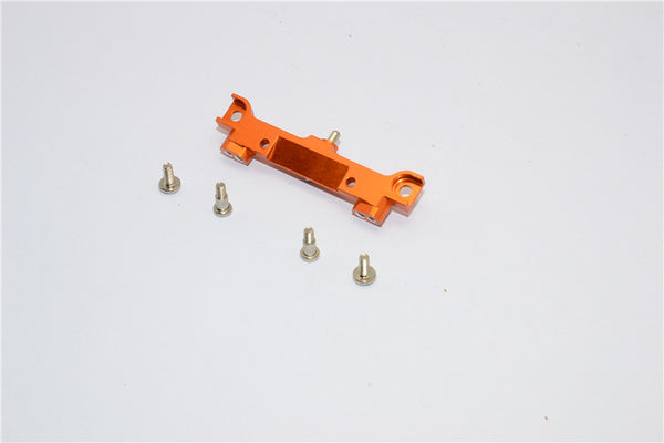 XMods Evolution Touring Aluminum Rear Shock Mount With Screws - 1Pc Set Orange