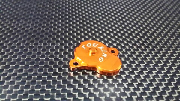 XMods Evolution Touring Aluminum Main Gear Protector - 1Pc Orange