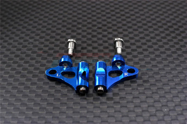 XMods Evolution Touring Aluminum Front Lower Arm With Screws - 1Pr Set Blue