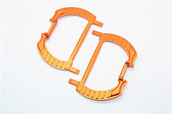 Traxxas XO-01 Supercar Aluminum Battery Holder - 1Pr Orange