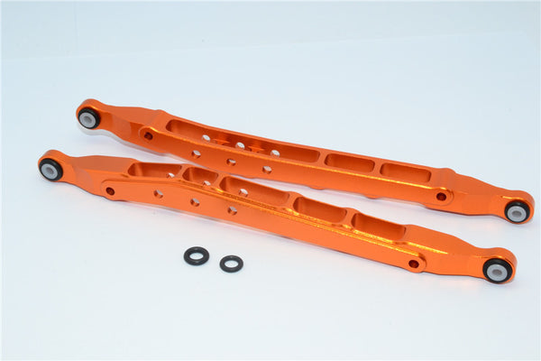 Axial SMT10 Grave Digger (AX90055) Aluminum Front/Rear Lower Chassis Link  Parts - 1Pr Set Orange