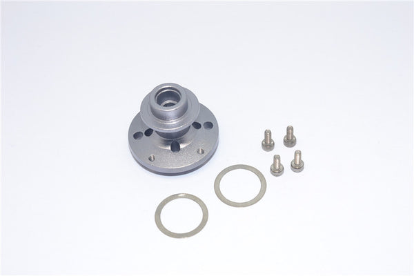 Axial SMT10 Grave Digger (AX90055) Aluminum Heavy Duty Differential Locker - 1Pc Set Gray Silver