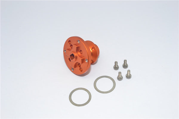 Axial SMT10 Grave Digger (AX90055) Aluminum Heavy Duty Differential Locker - 1Pc Set Orange