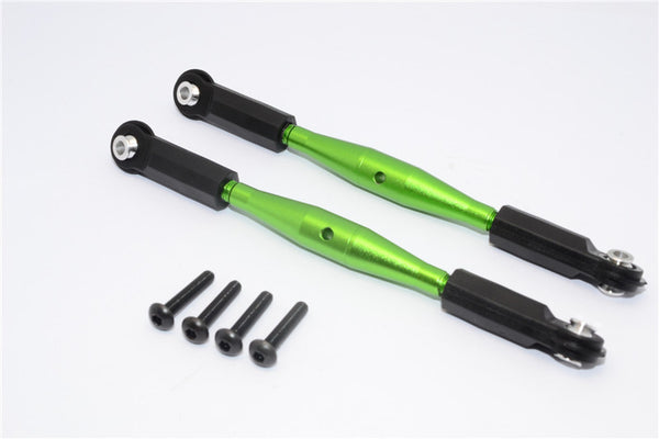 Axial Yeti XL Monster Buggy Aluminum Steering Rod With Plastic Ends - 1Pr Set Green