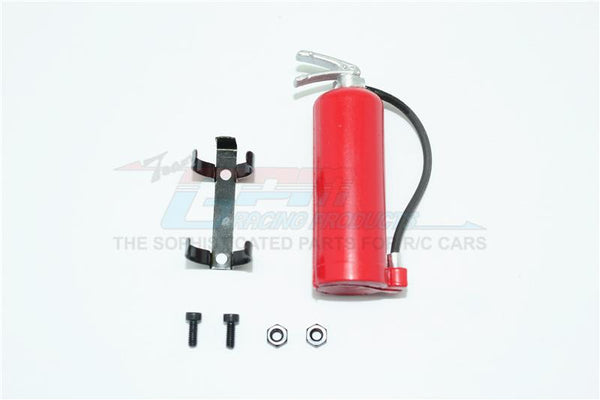R/C Scale Accessories : Simulation Nos Gas Tank (With Hose) For 1:10 Crawlers - 1 Set Red