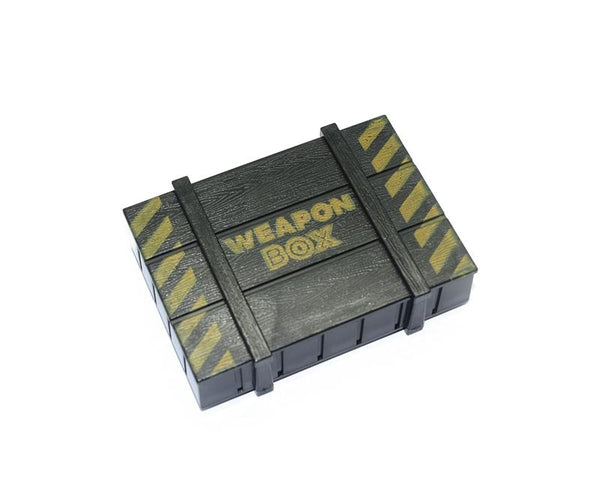 R/C Scale Accessories : Simulation Weapon Box For 1:10 Crawlers - 1 Set