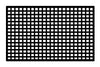 R/C Scale Accessories : Elastic Netting For Cargo Or Windows - 1Pc Black