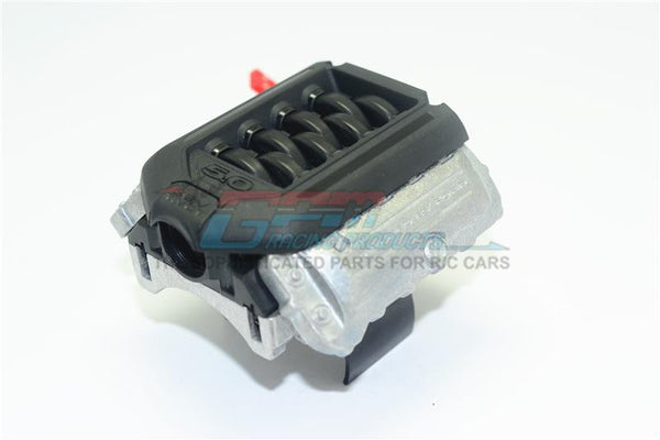 R/C Scale Accessories : V8 5.0 Engine Radiator (With Cooling Fan) 3S Version for 1:10 Crawlers - 1 Set