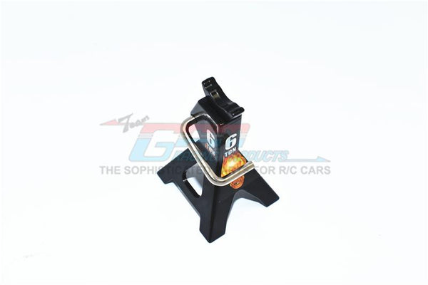 R/C Scale Accessories : Metal Jack Repair Tool For 1:10 Crawlers (Style No.6) - 1Pc Set Black