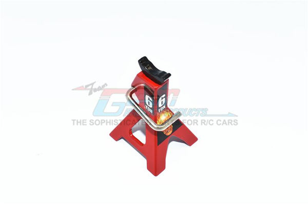 R/C Scale Accessories : Metal Jack Repair Tool For 1:10 Crawlers (Style No.6) - 1Pc Set Red