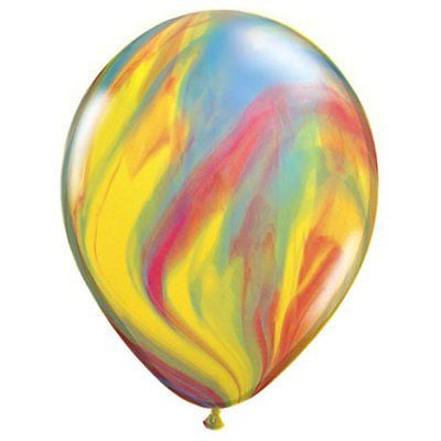 Tie Dye Marble Balloons Pkt 6 - This Little Party