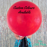 Giant Red Proposal Balloon - This Little Party