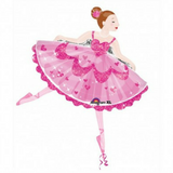 Ballerina Pink Tutu Giant Balloon - This Little Party