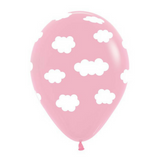 Light Pink Cloud Balloons 6 Pack - This Little Party