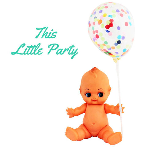 Confetti Mini Balloons 3pkt - This Little Party