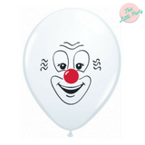 Clown Face Balloons 6pk - This Little Party