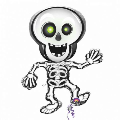 Halloween Skeleton Balloon - This Little Party