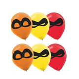 Incredibles 2 Balloons 6pk - This Little Party