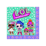 LOL Surprise Dolls Paper Luncheon Napkins 16pk - This Little Party