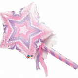 Magic Wand Fairy Princess Balloon 91cm - This Little Party