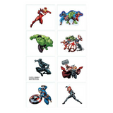 Temporary Tattoos Marvel Avengers Party Favours 8pk - This Little Party
