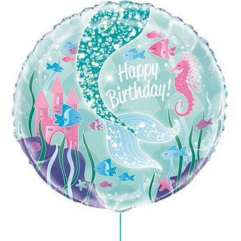 Mermaid Party Balloon - This Little Party