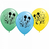 Mickey Mouse 1st Birthday Balloons - This Little Party