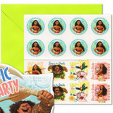 Moana Birthday Party Invitations - This Little Party