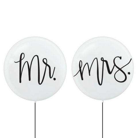 Mr & Mrs Jumbo Balloons - This Little Party