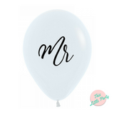 Mr & Mrs Balloons 6pk - This Little Party