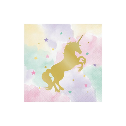 Napkins Unicorn Pastel 16pk - This Little Party