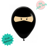 Ninja Party Balloons - This Little Party