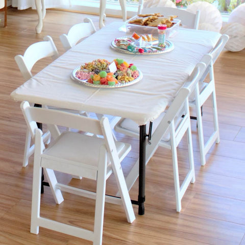 Trestle Table   Adjustable Sizes   This Little Party