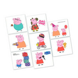 Temporary Tattoos Peppa Pig Party Favour 8pk - This Little Party