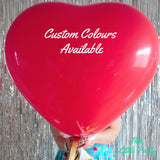 Giant Red Heart Proposal Balloon - This Little Party