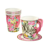 Alice in Wonderland Paper Teacups 12pk - This Little Party