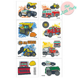 Temporary Tattoos Tonka Truck Construction Party Favours - This Little Party