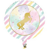 Unicorn Pastel Foil Balloon 45cm - This Little Party