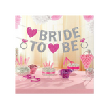 Bride to Be Bachelorette Party Banner Bunting - This Little Party