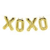 XOXO Gold Balloons Banner - This Little Party